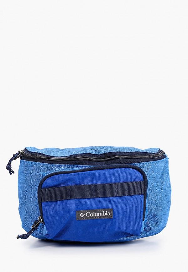 женская поясные сумка columbia, синяя