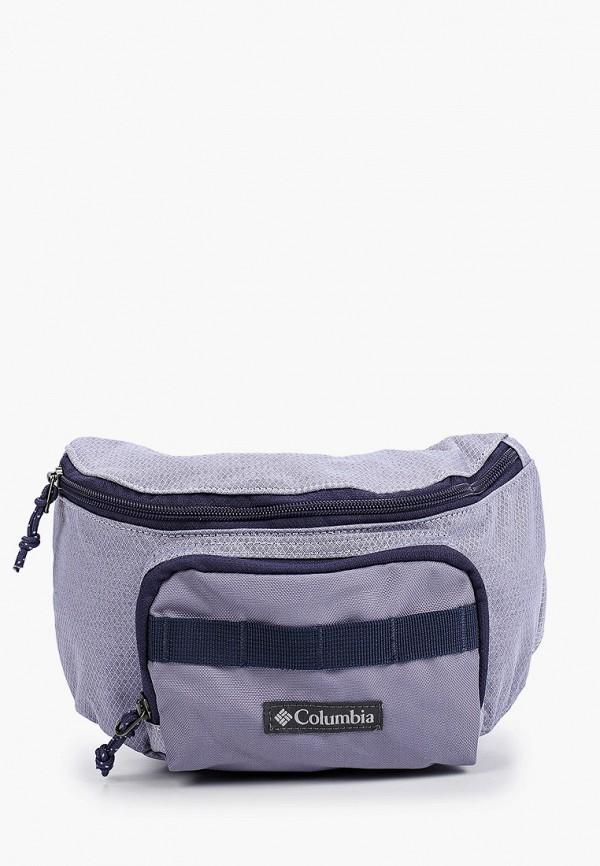 женская поясные сумка columbia, голубая