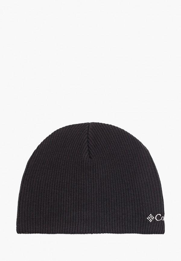 шапка columbia для мальчика, черная