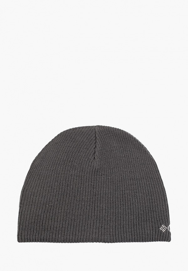 шапка columbia для мальчика, серая