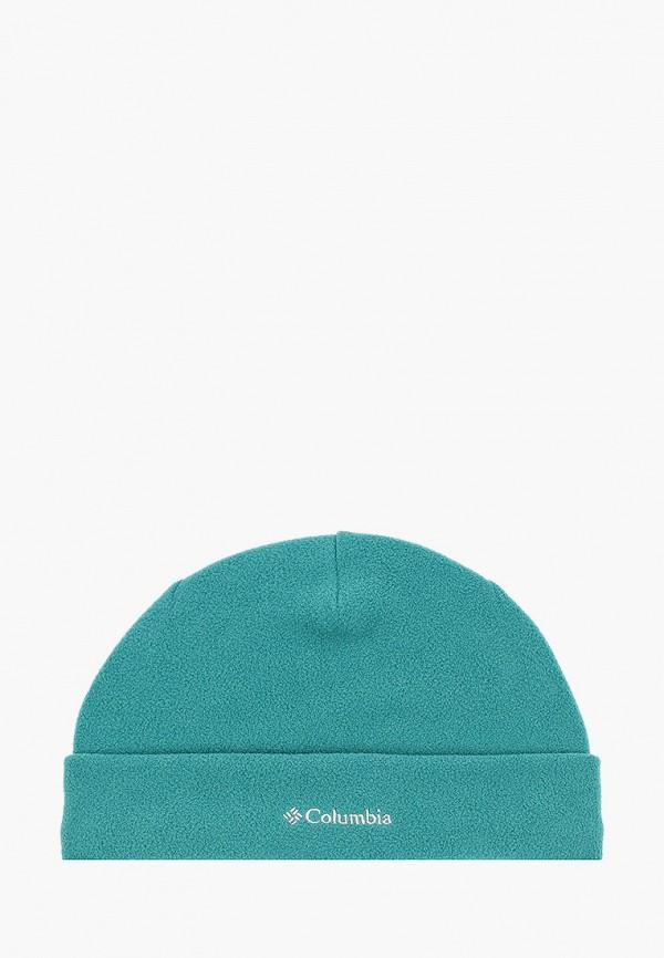 шапка columbia для мальчика, зеленая