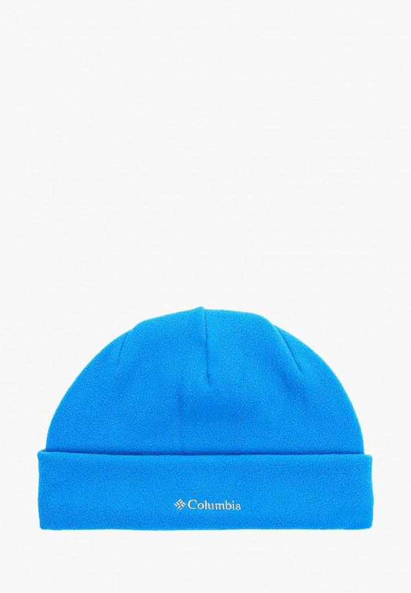 шапка columbia для мальчика, синяя