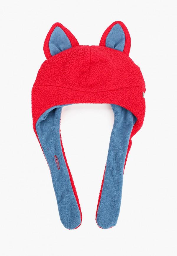 шапка columbia малыши, красная