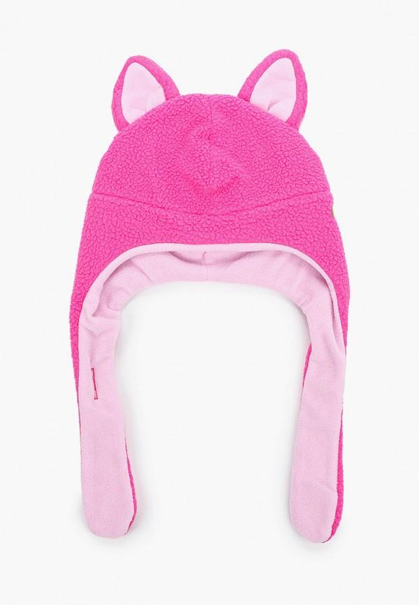шапка columbia малыши, розовая