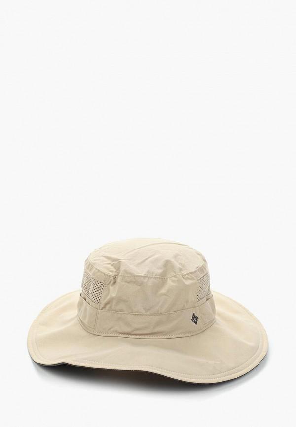 женская шляпа columbia, бежевая