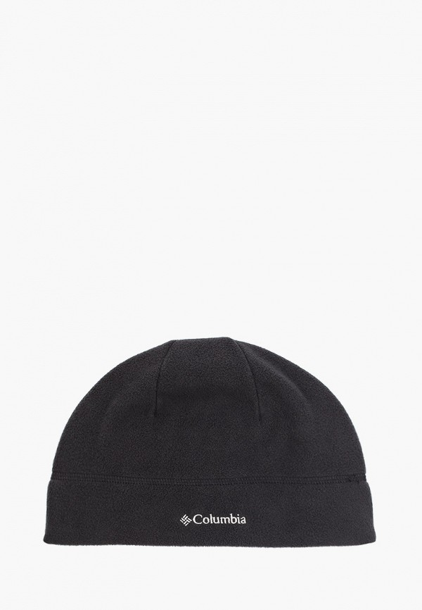 женская шапка columbia, черная