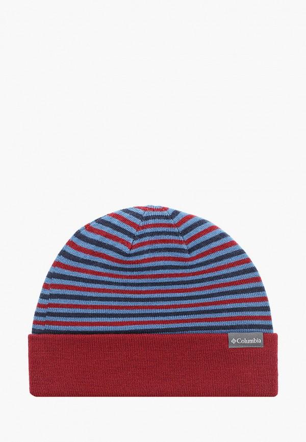 женская шапка columbia, разноцветная