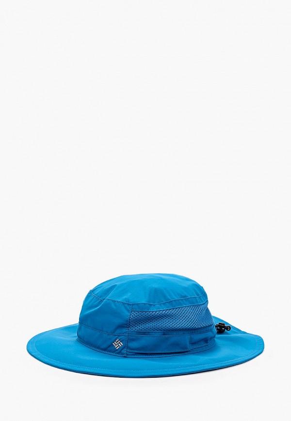 женская панама columbia, синяя