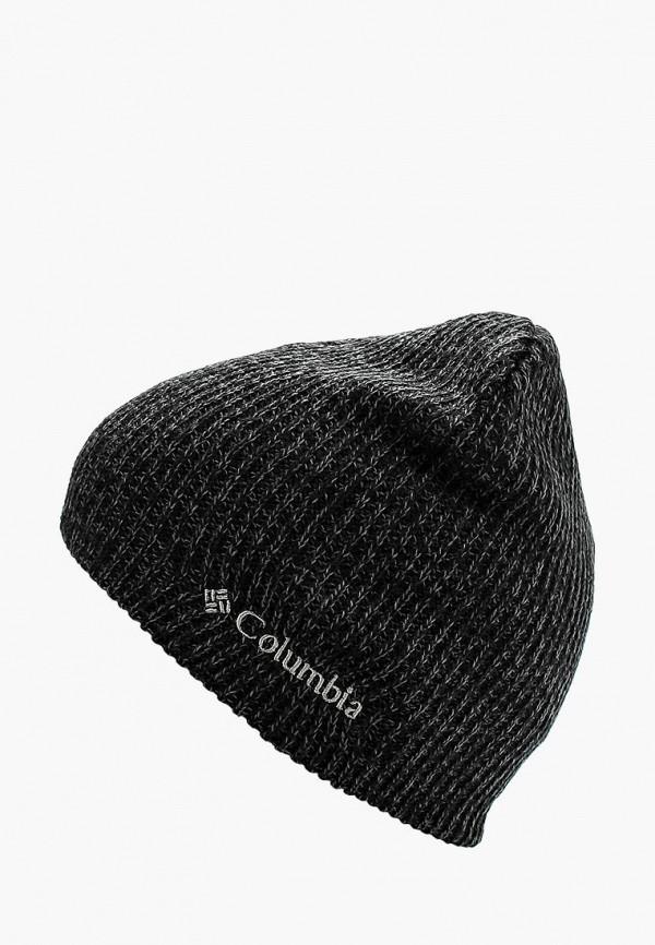 женская шапка columbia, серая