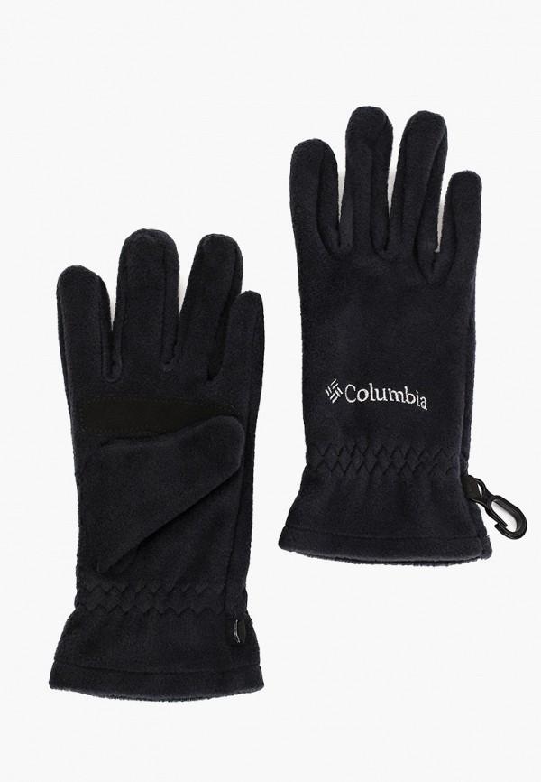 перчатки columbia для мальчика, черные