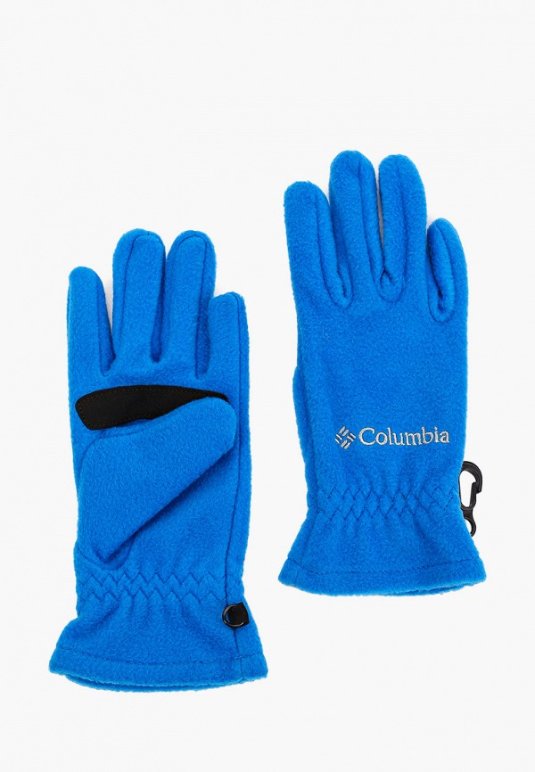 перчатки columbia для мальчика, синие