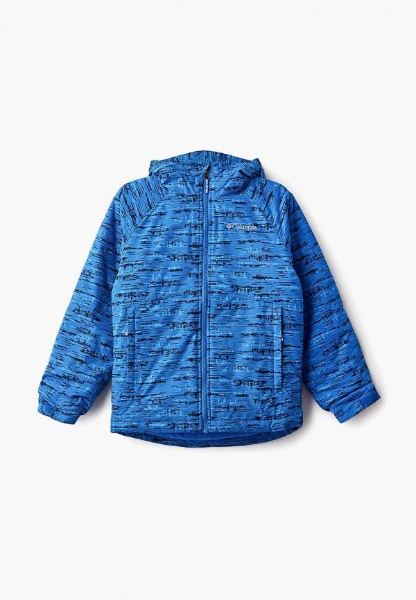 Купить Куртка горнолыжная Columbia, co214ebcpoe8, синий, Осень-зима 2018/2019
