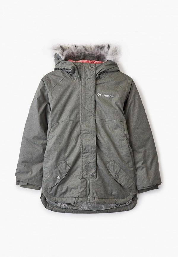 утепленные куртка columbia для мальчика, хаки
