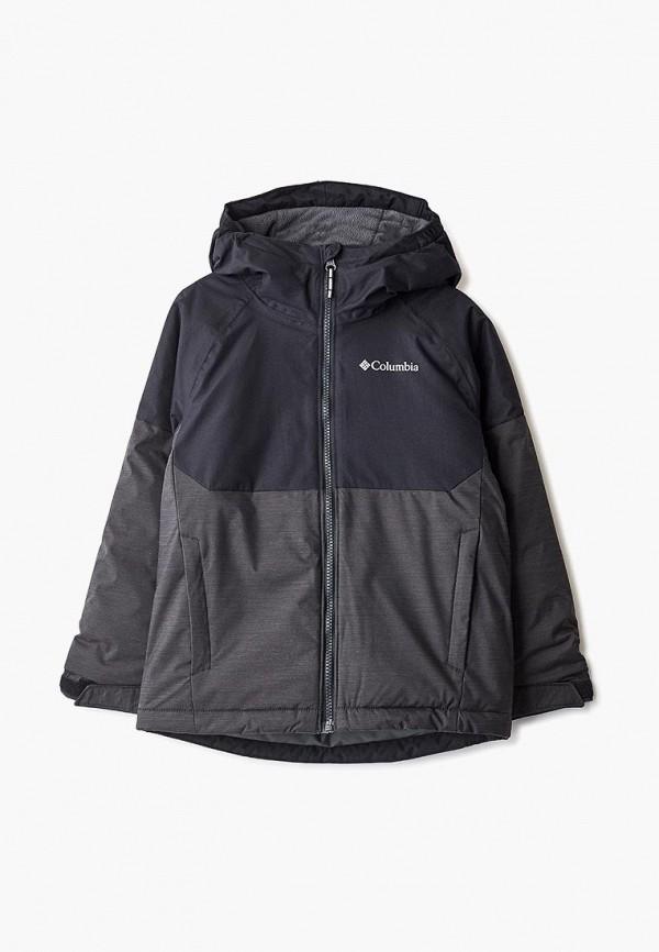 куртка columbia для мальчика, черная