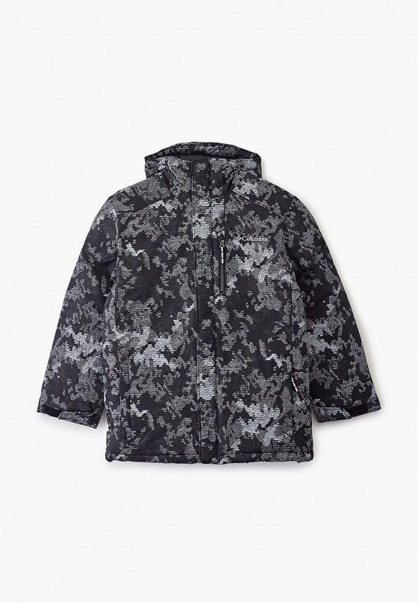 утепленные куртка columbia для мальчика, серебряная