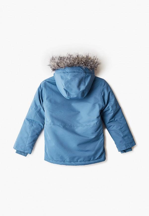 Фото 2 - Куртку утепленная Columbia синего цвета