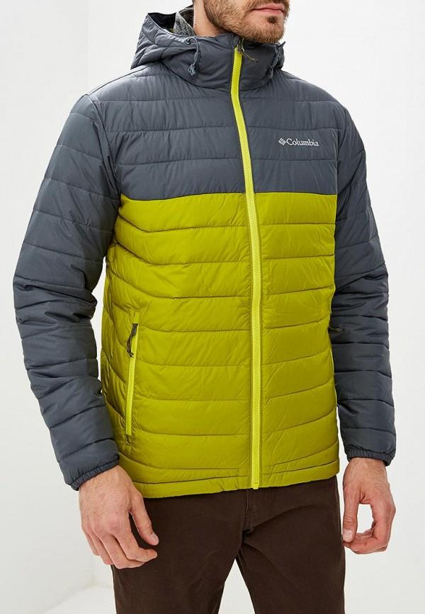 Купить Куртка утепленная Columbia, Powder Lite™ Hooded Jacket, co214emcpon8, зеленый, Осень-зима 2018/2019