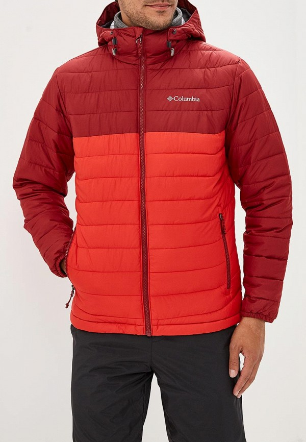 Купить Куртка утепленная Columbia, Powder Lite™ Hooded Jacket, co214emcppi2, красный, Осень-зима 2018/2019