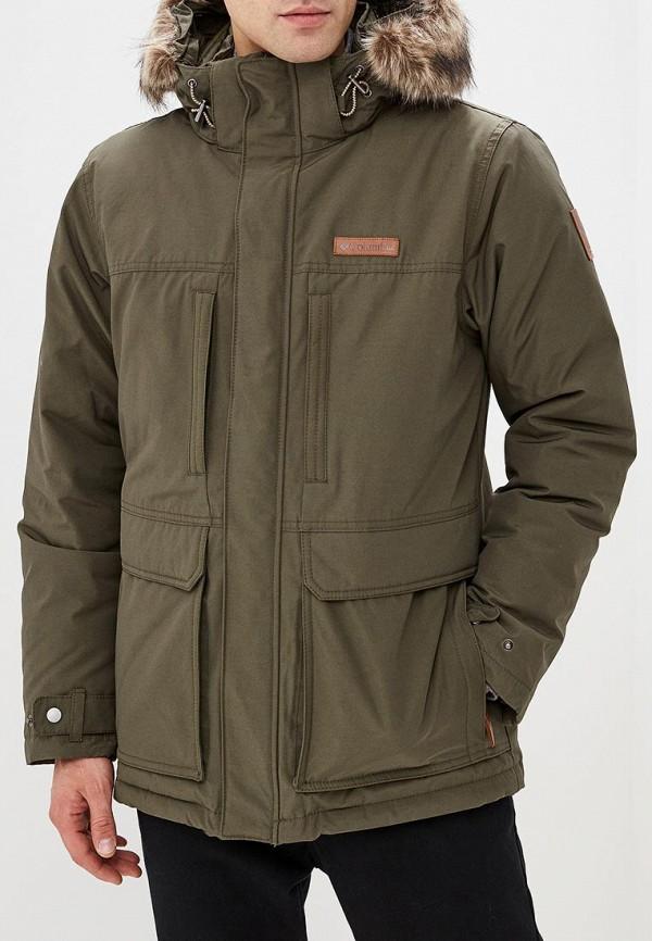 Купить Куртка утепленная Columbia, Marquam Peak™ Jacket, co214emcppj8, хаки, Осень-зима 2018/2019