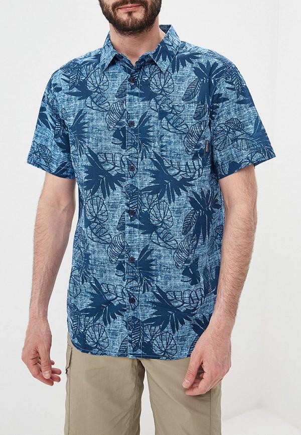 мужская спортивные рубашка columbia, голубая