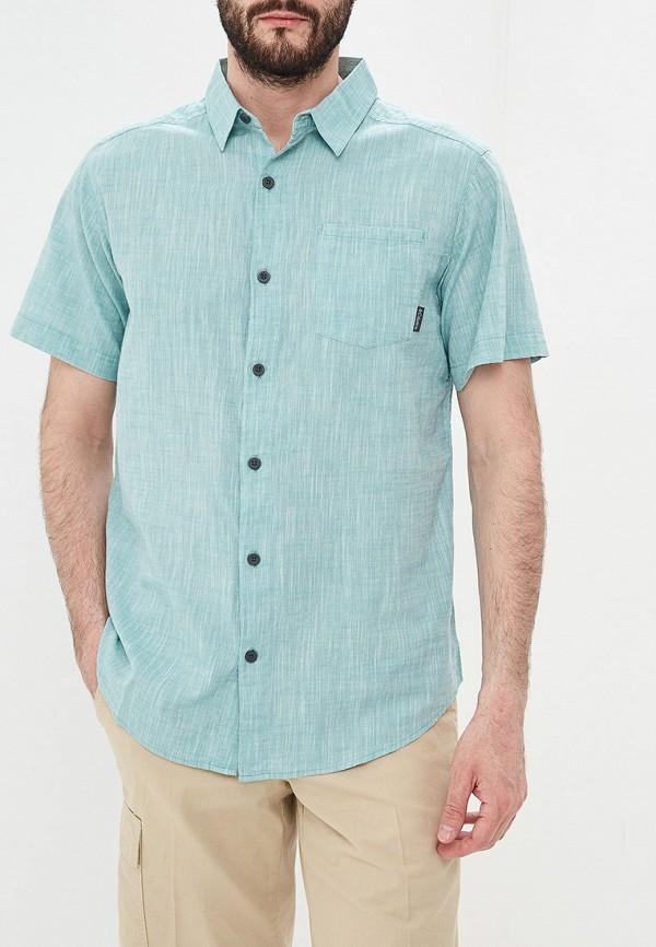 мужская спортивные рубашка columbia, бирюзовая