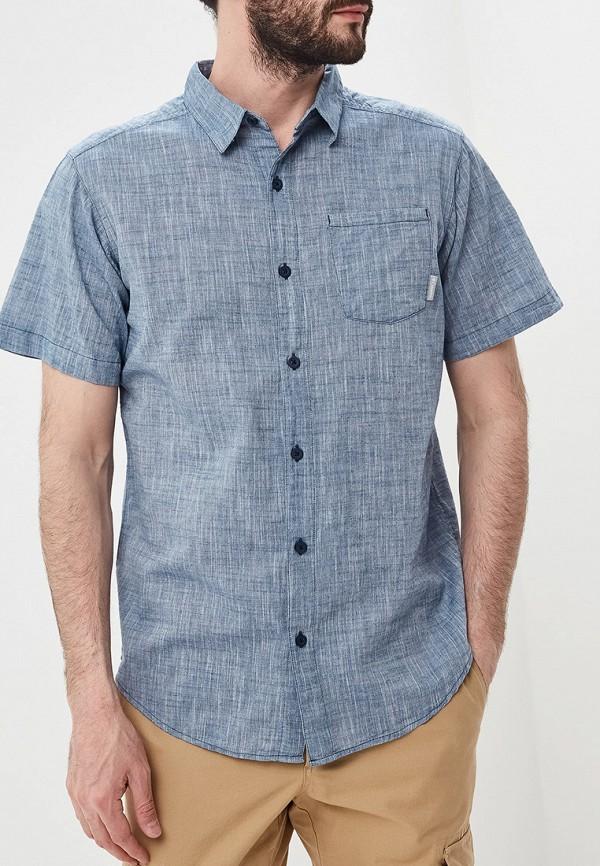 мужская спортивные рубашка columbia, синяя