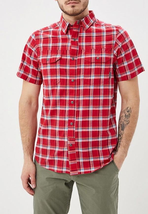 мужская спортивные рубашка columbia, красная