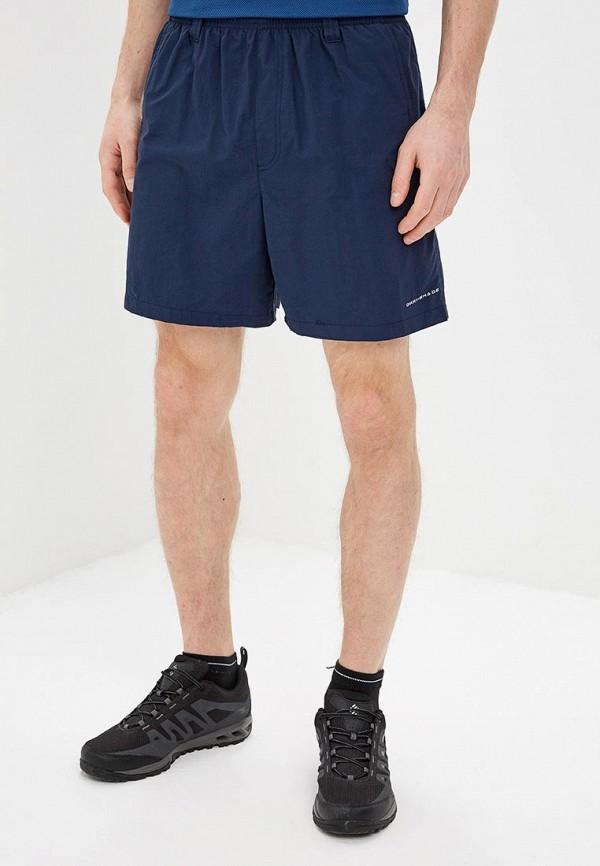 мужские спортивные шорты columbia, синие
