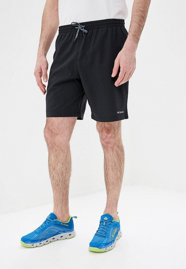 мужские спортивные шорты columbia, черные