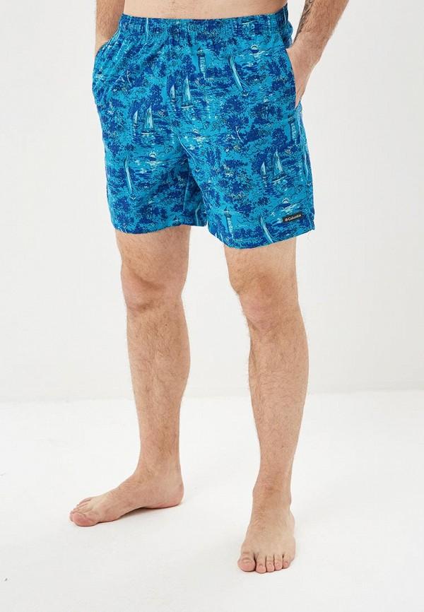 мужские спортивные спортивные шорты columbia, синие