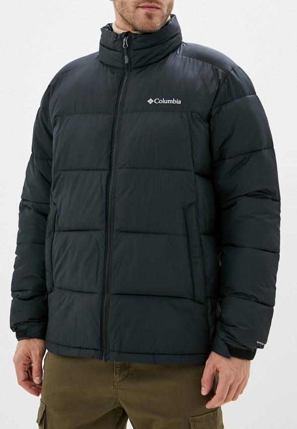 Фото - Куртку утепленная Columbia черного цвета