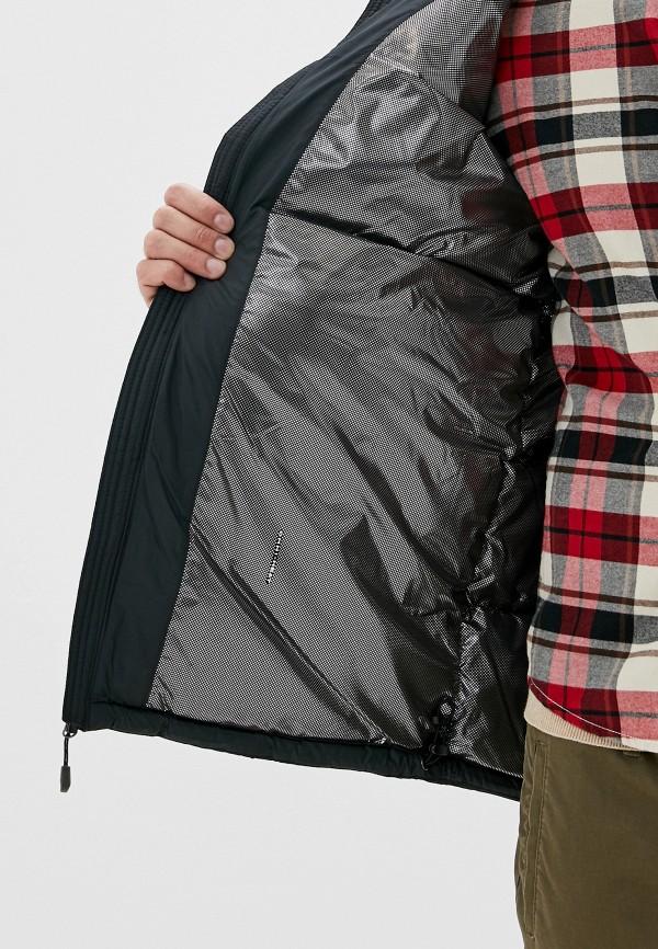 Фото 4 - Куртку утепленная Columbia черного цвета