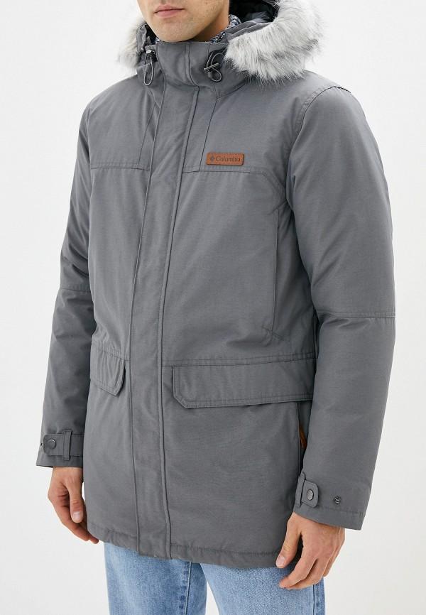 мужская спортивные куртка columbia, серая