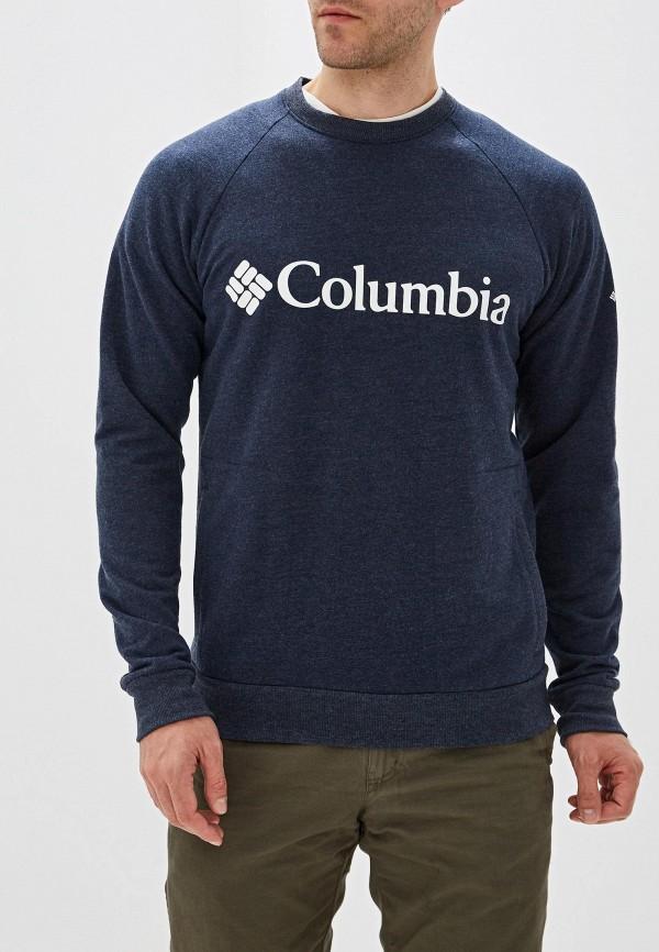 мужской свитшот columbia, синий