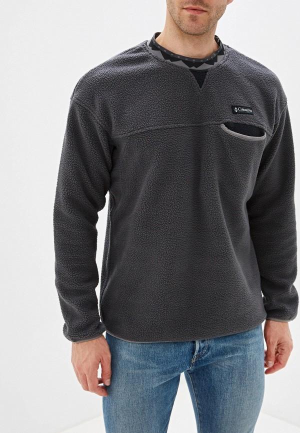 мужской свитшот columbia, серый