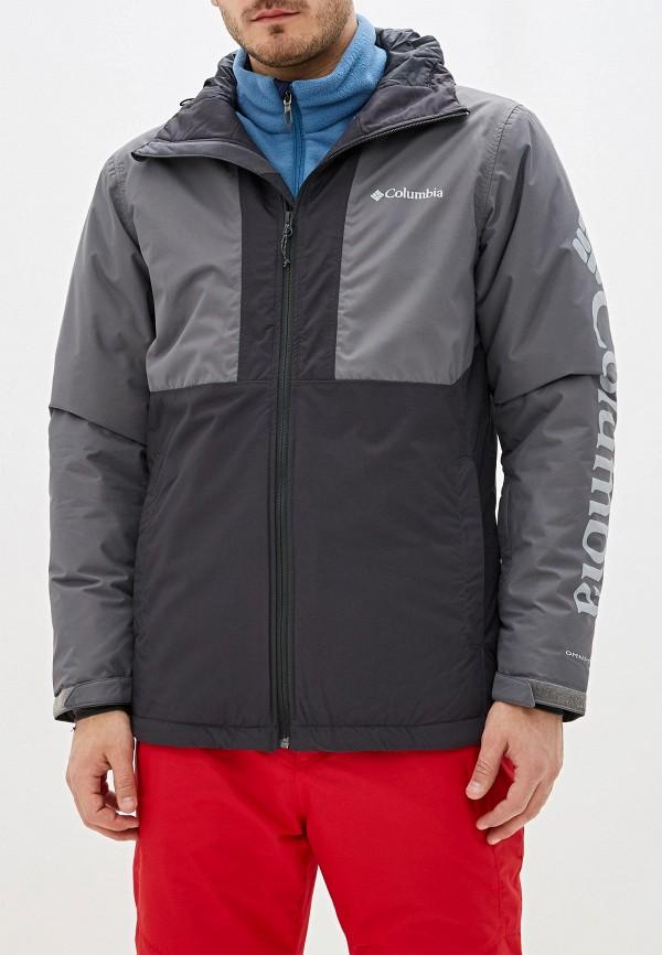 мужская куртка columbia, серая