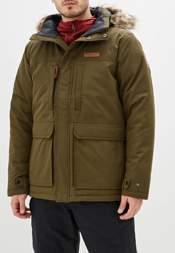 мужская куртка columbia, хаки