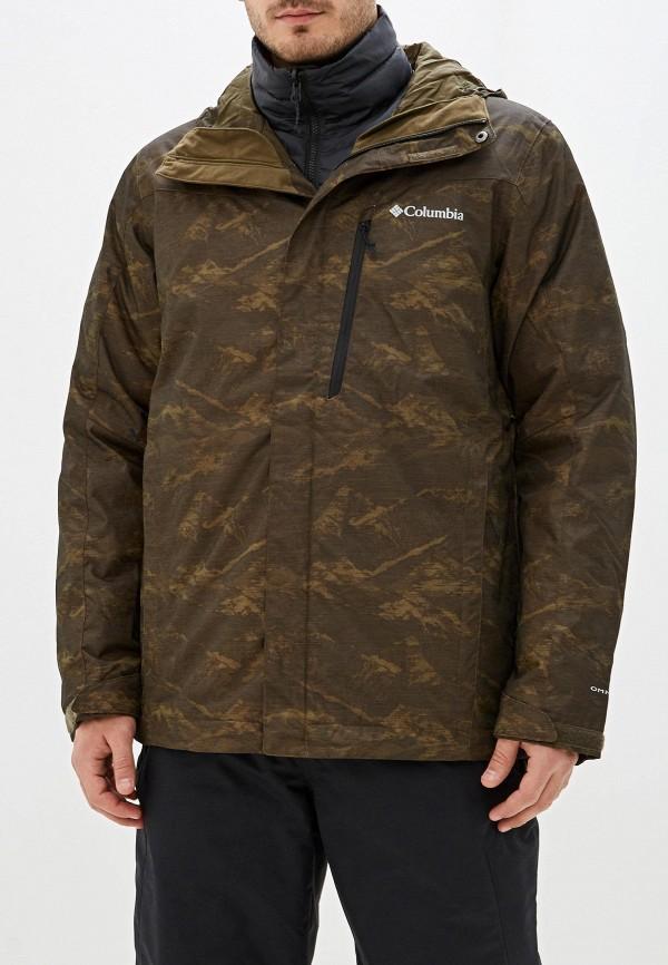 мужская куртка columbia, разноцветная
