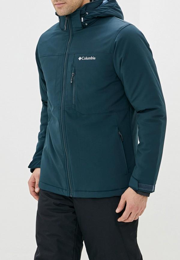 мужская куртка columbia, бирюзовая