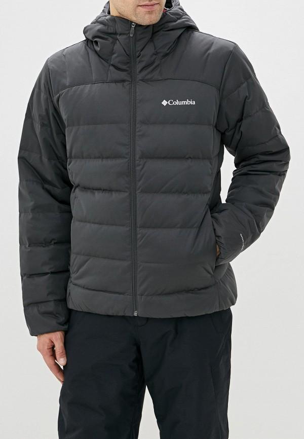 мужской пуховик columbia, серый