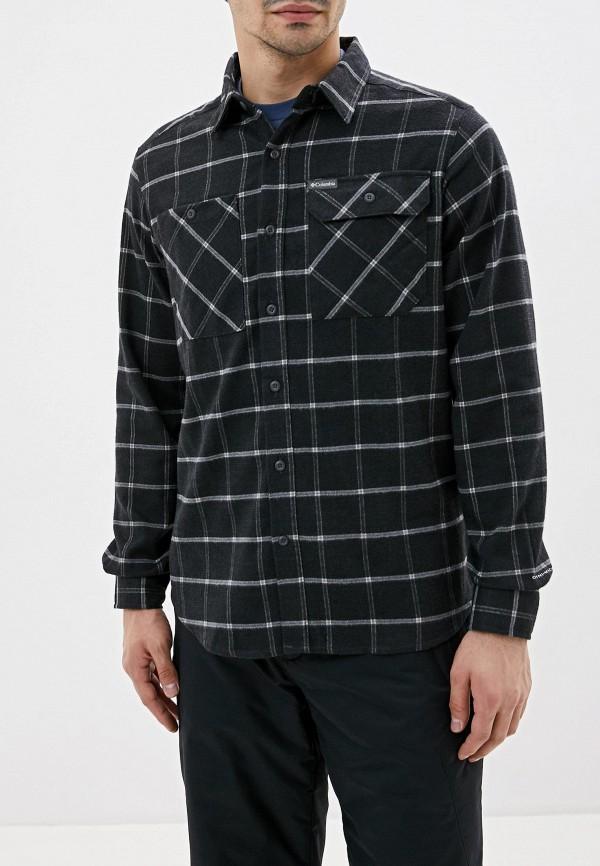 мужская рубашка columbia, черная