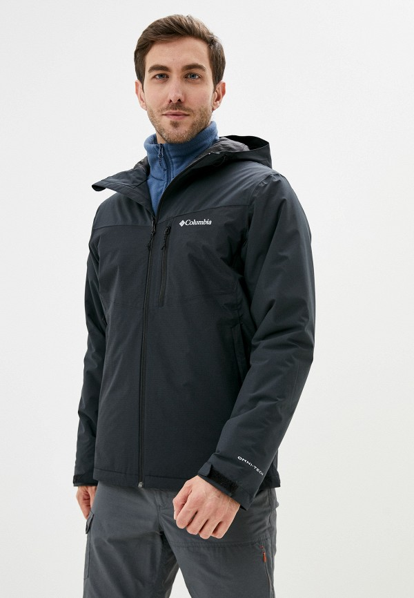мужская куртка columbia, черная