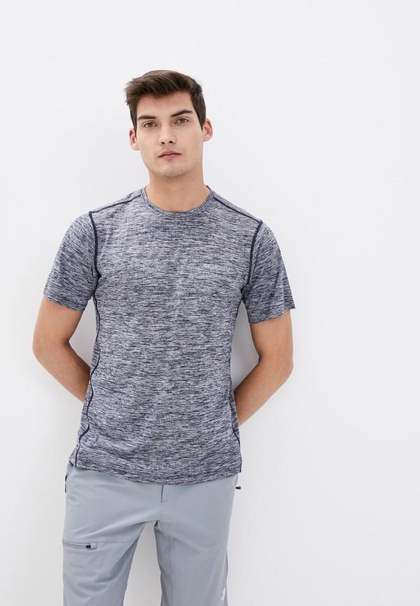 мужская спортивные футболка columbia, синяя