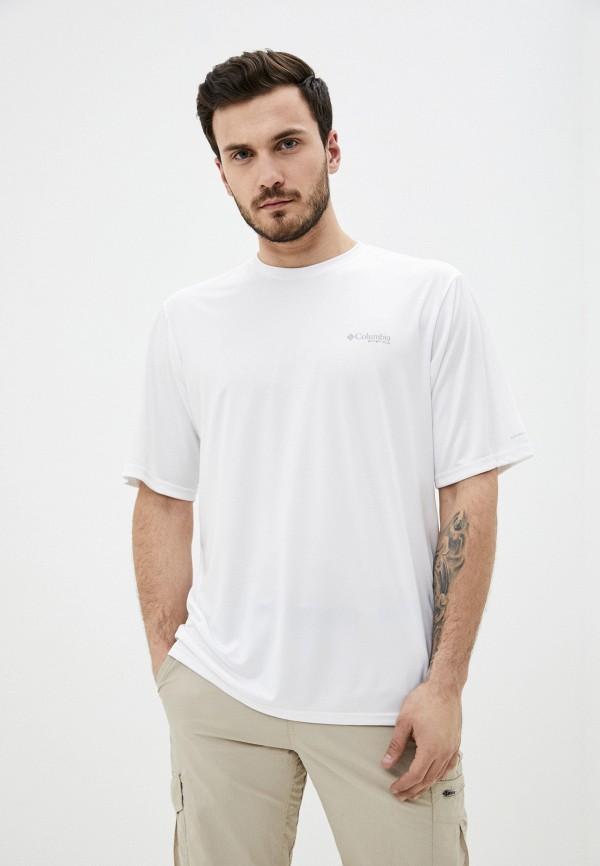 мужская спортивные футболка columbia, белая