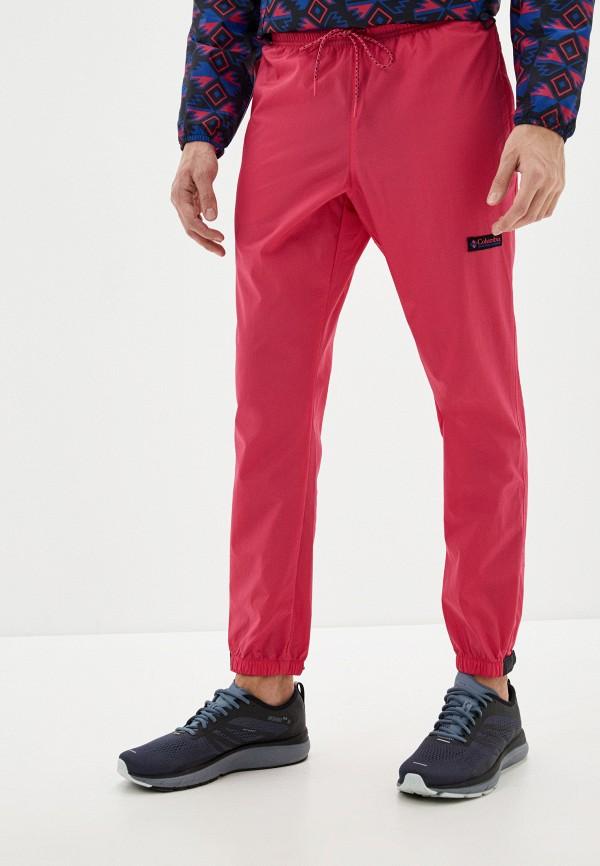 мужские спортивные брюки columbia, розовые