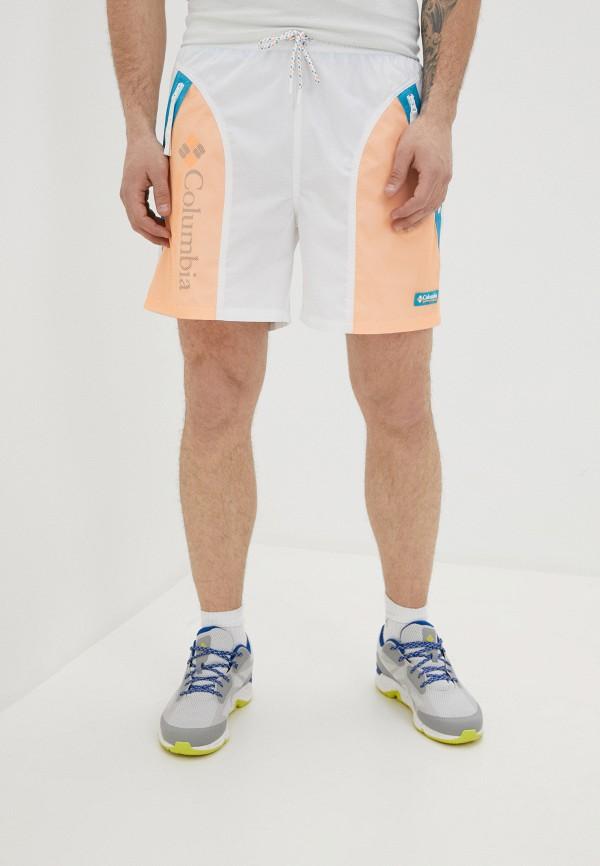 мужские шорты columbia, белые