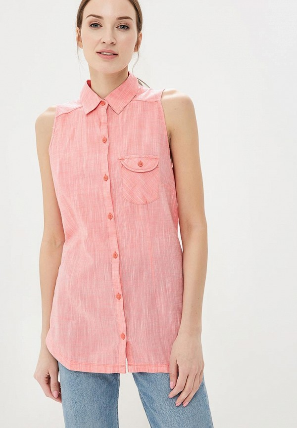 женская блузка columbia, розовая
