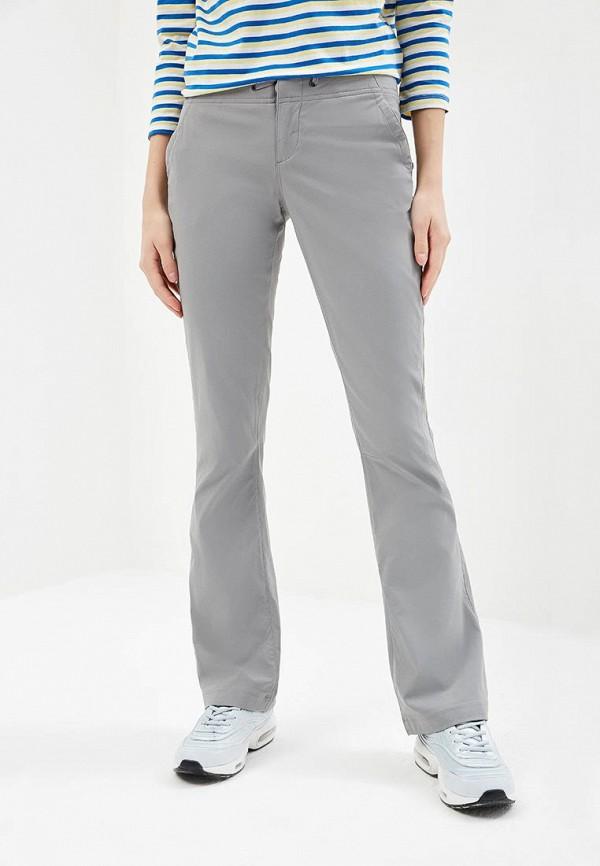 женские брюки columbia, серые