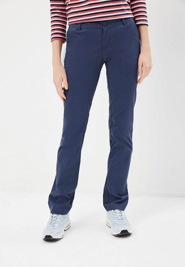 женские брюки columbia, синие
