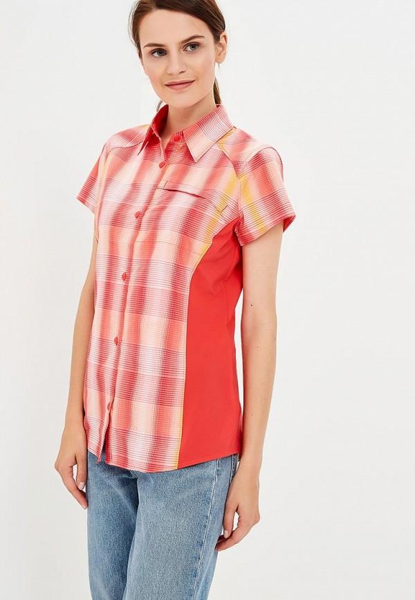 женская рубашка с коротким рукавом columbia